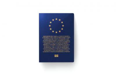 DESCHRIJVERE 介紹的新版歐盟通行證